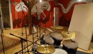 Schlagzeugabnahme im Dragon-Room - optimiert für tollen Schlagzeugsound